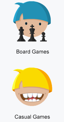 board and casual games