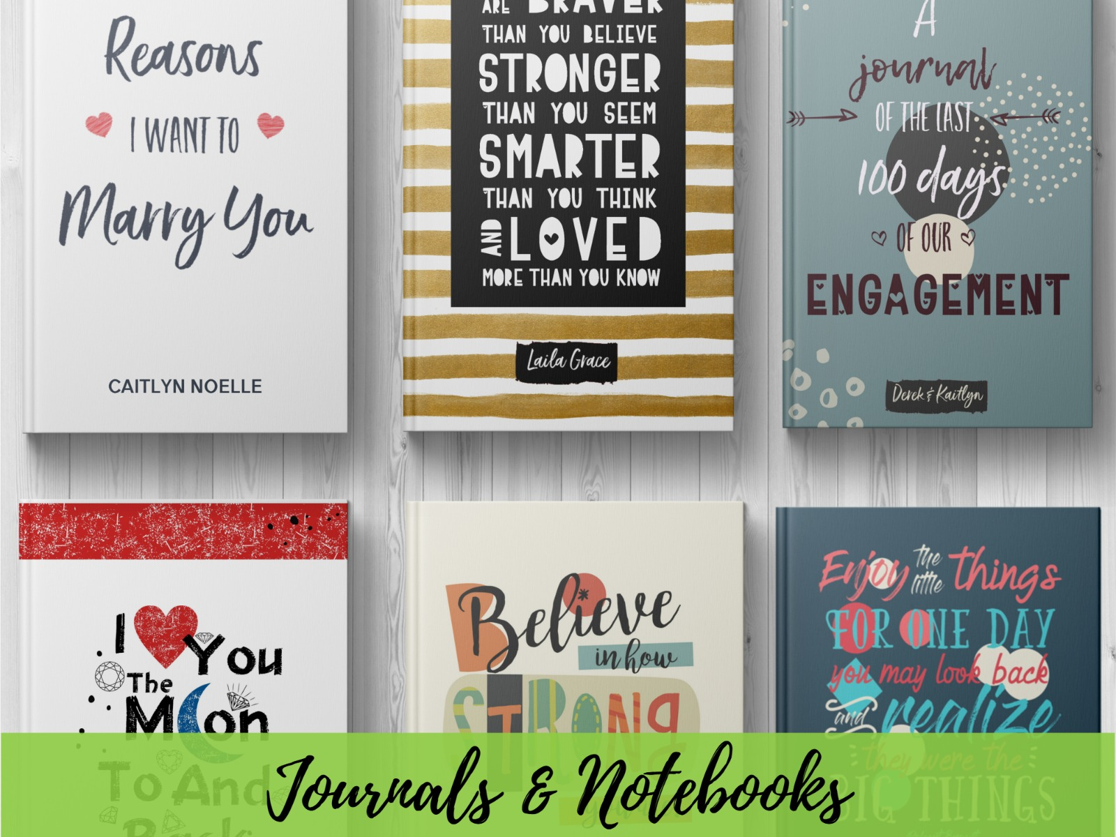 Journals, Planners & Notebooks