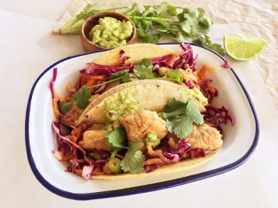 Chicken Tacos free of the top 9 allergens