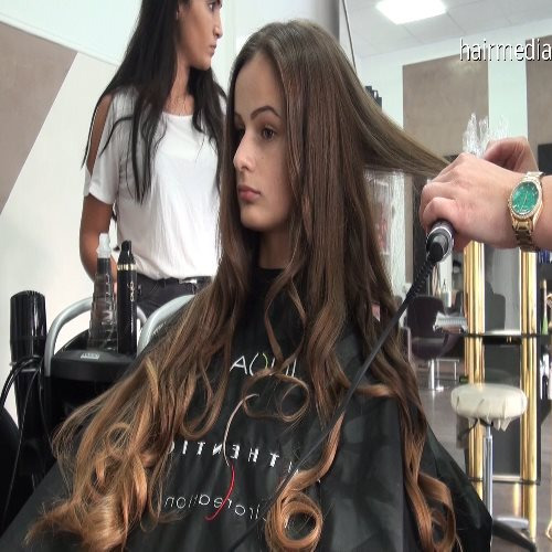 long hair coloring torture 279 min making of