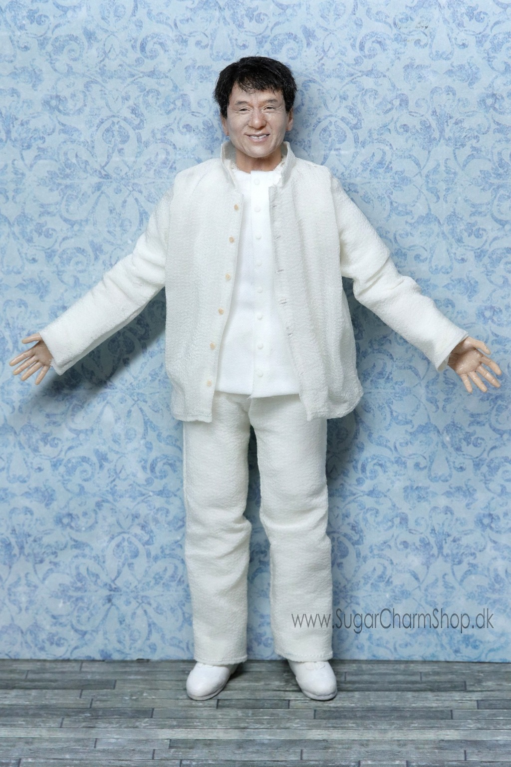 Jackie Chan inspired miniature doll
