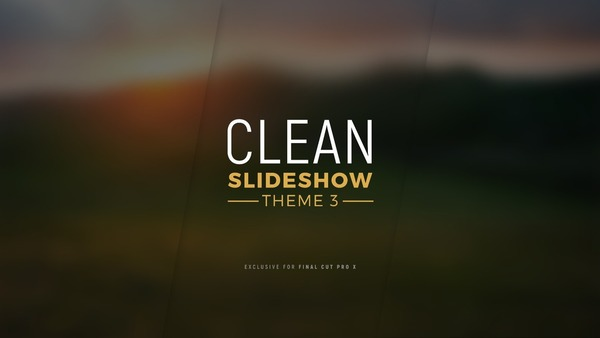 Clean Slideshow Theme 3