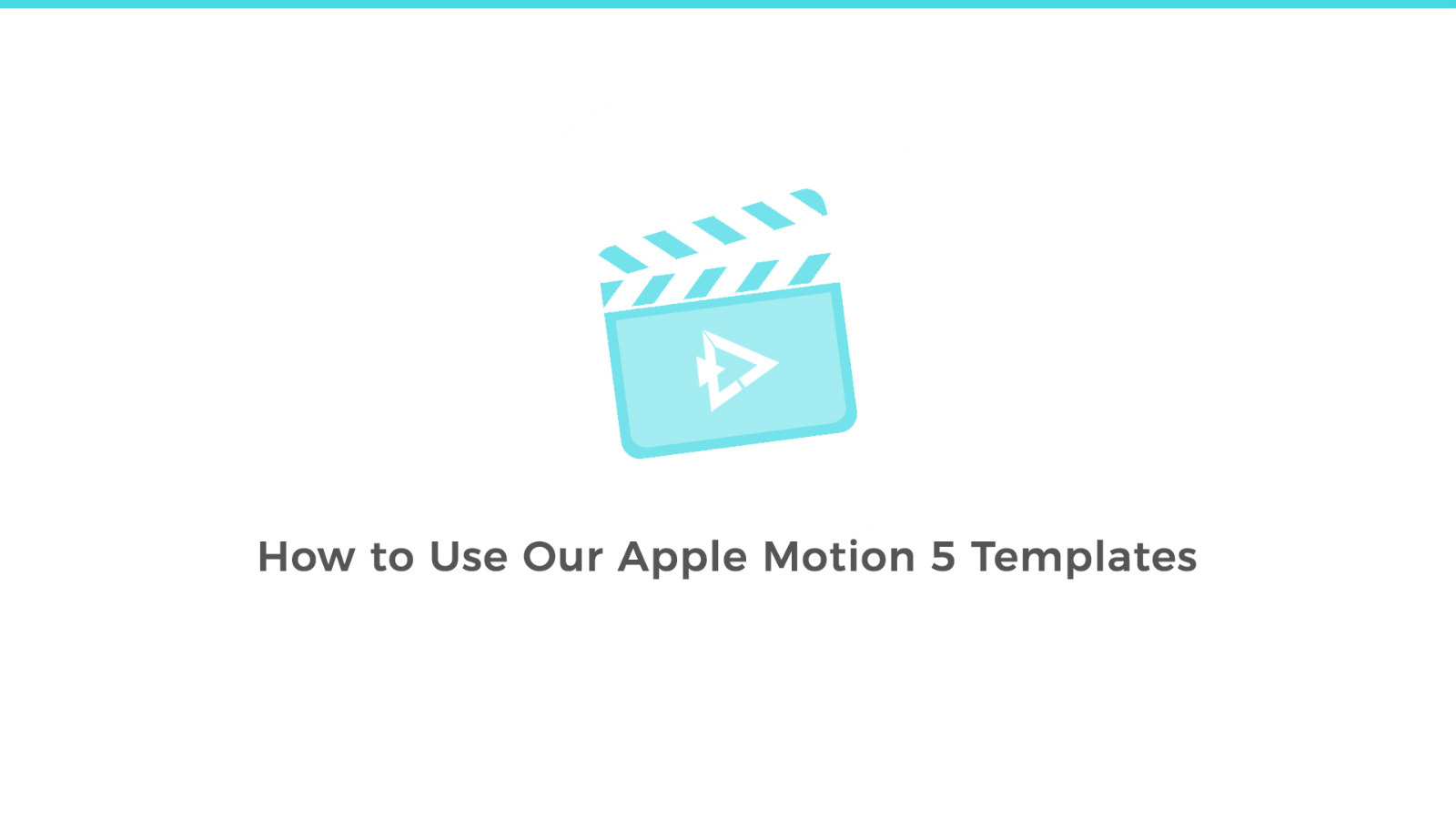 How to Use Our Apple Motion 5 Templates | LenoFX.com