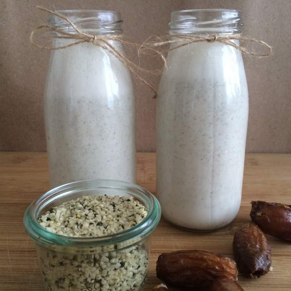 Make Your Own Hemp Milk