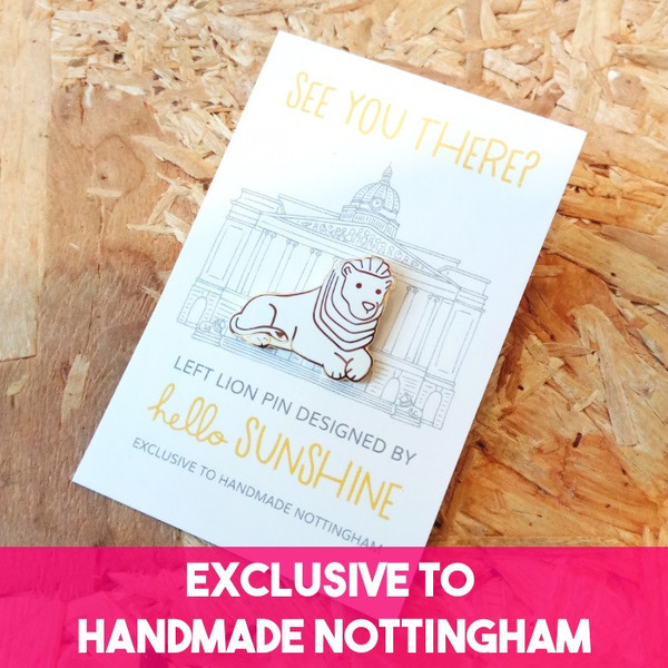 Exclusive to Handmade Nottingham