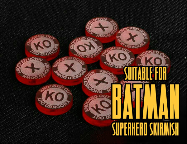 Batman Miniatures Game Compatible - Superhero Skirmish