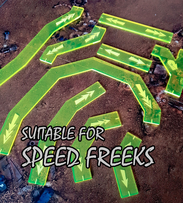 Suitable for Speed Freeks