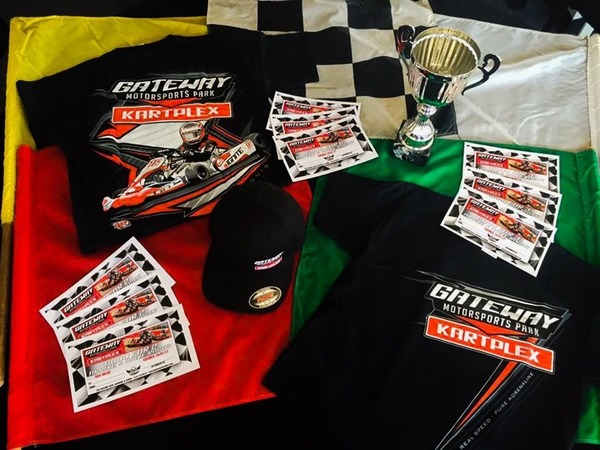 3 Arrive & Drive Races + Kartplex T-Shirt or Hat