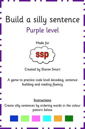 purple create a silly sentence ssp monster mapping store