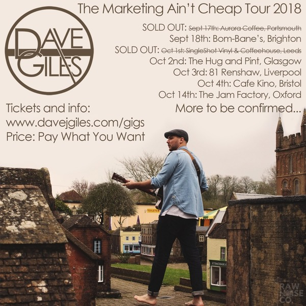 eTicket for: The Marketing Ain't Cheap Tour - Autumn 2018
