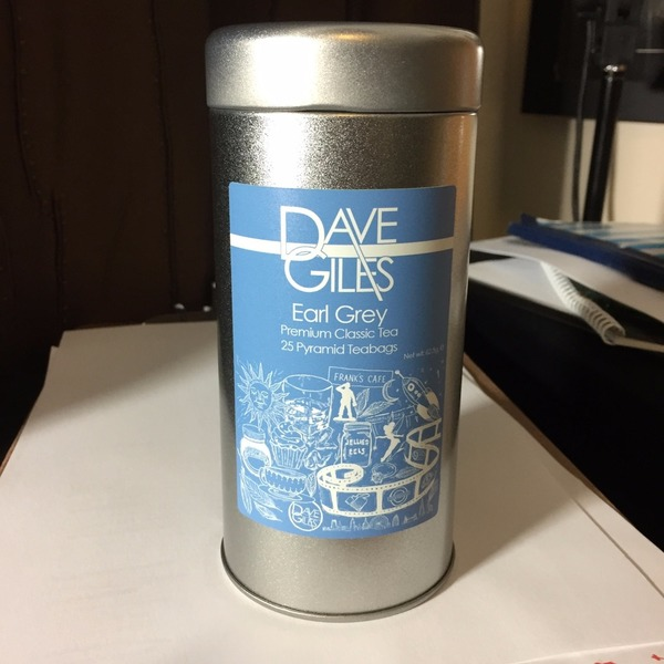 Earl Grey Tea in Reusable Tin