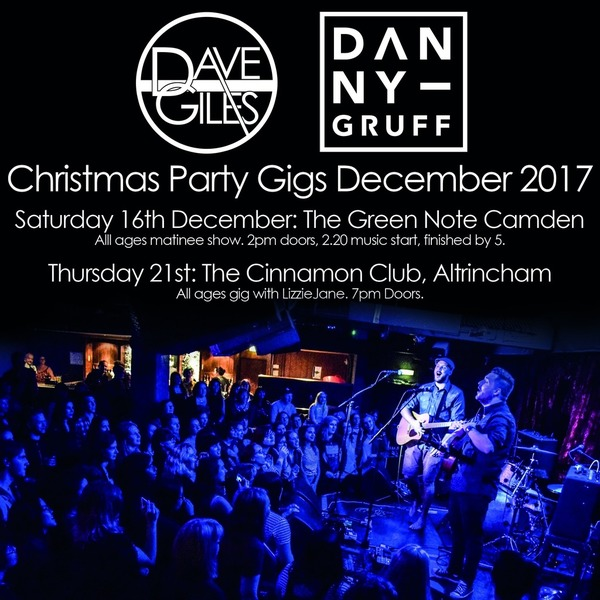 Dave Giles and Danny Gruff Christmas Party - eTicket