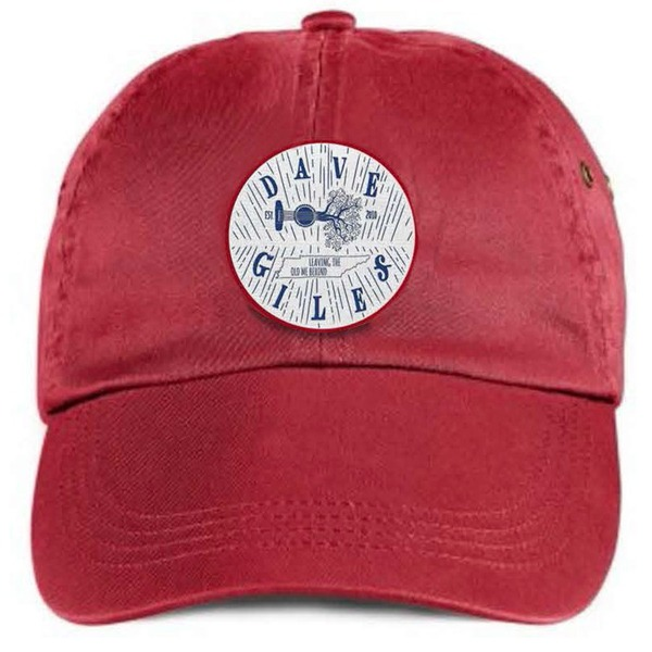 Red Cap with Patch