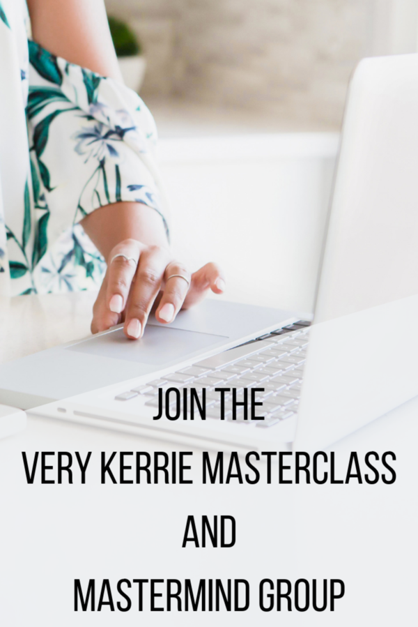 Very Kerrie Masterclass - 52 Courses by Kerrie Legend
