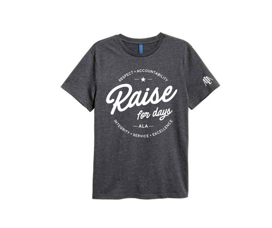 Ala flybird friday raise for days tee american for American leadership academy friday shirts