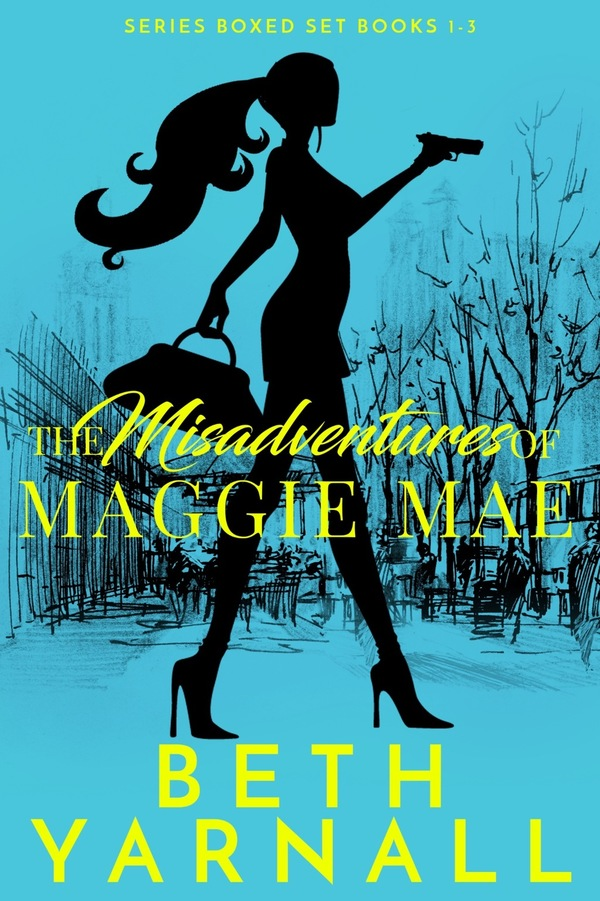 The Misadventures of Maggie Mae boxed set autographed paperback