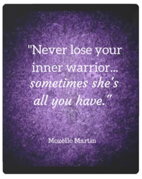 Inner Warrior Quote