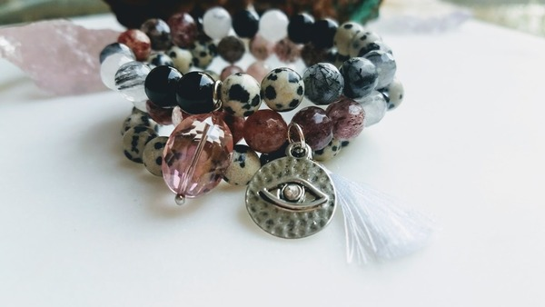 May The Quartz Be With You | 3-piece stack
