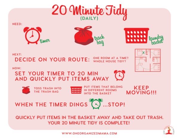 20-Minute Tidy Guide