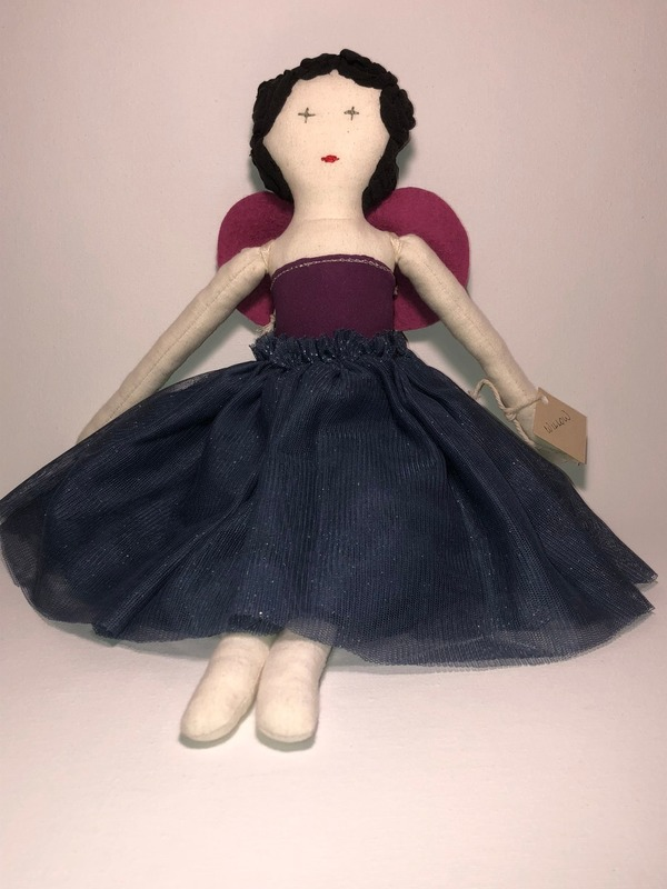 Willow - cotton fabric doll
