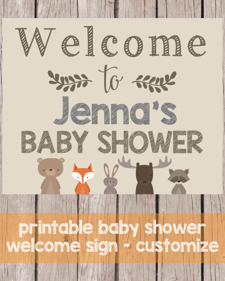 It is a picture of Impertinent Free Printable Baby Shower Signs