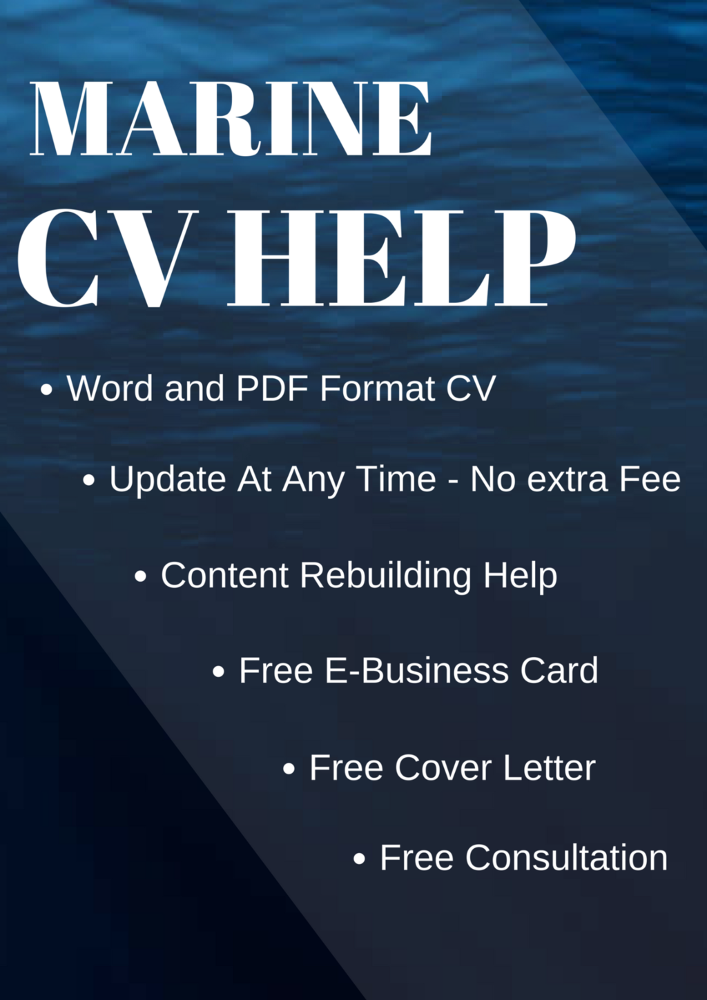 Super Yacht CV and Deluxe Resume Package on Sale - Marine CV Help