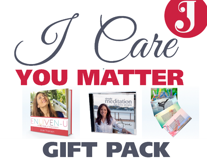 I Care. You Matter. Gift Pack