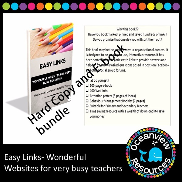 Ocean view resources complete catalogue of items oceanview resources easy links ebook and spiral bound copy limited offer fandeluxe Gallery