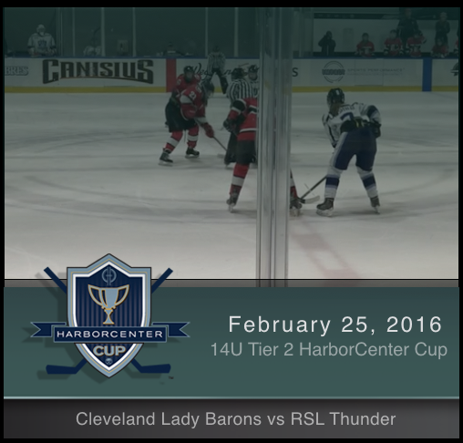 2/25/17 - Girls 14U Tier 2 Cleveland Lady Barons vs RSL Thunder