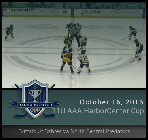 11U AAA Championship Buffalo Jr Sabres vs North Central Predators