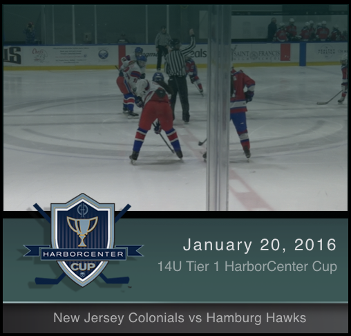 14U Tier 1 New Jersey Colonials vs Hamburg Hawks
