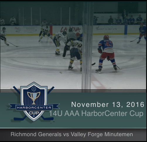 14U AAA Richmond Generals vs Valley Forge Minutemen
