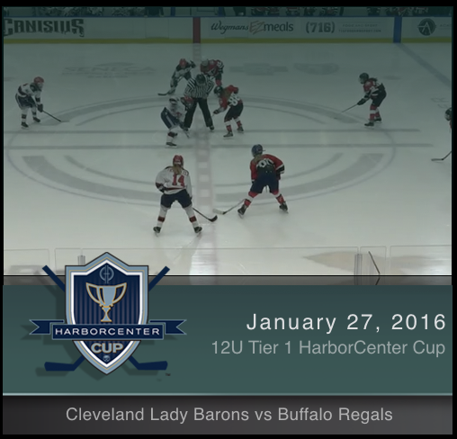 12U Tier 1 Buffalo Regals vs Cleveland Lady Barons