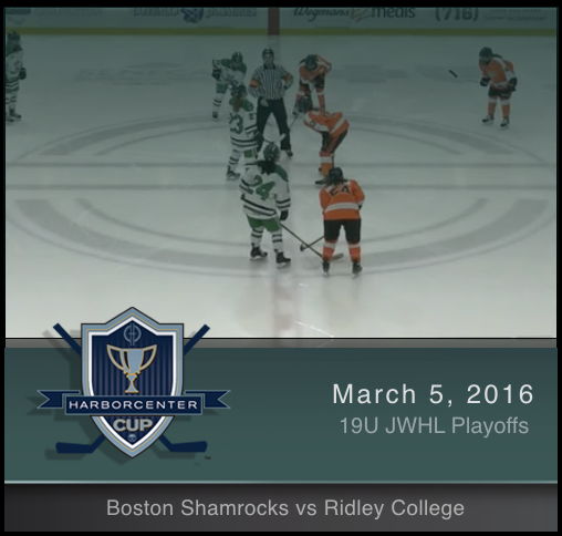 JWHL 19U Boston Shamrocks vs Ridley
