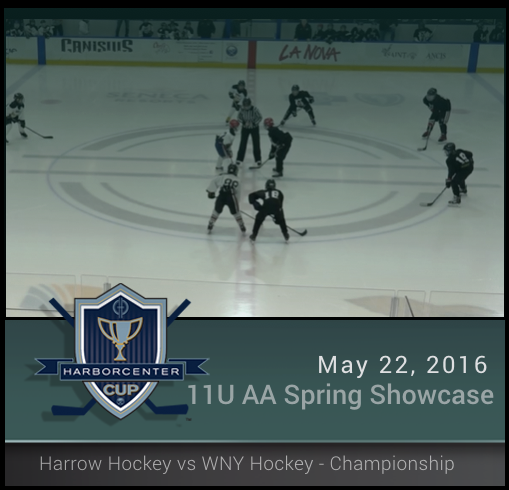 5/22/16 - 11U AA Spring Showcase - Harrow Summer Hockey vs WNY Hockey - Championship