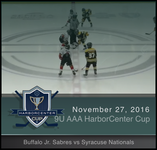 9U AAA Buffalo Jr. Sabres vs Syracuse Nationals