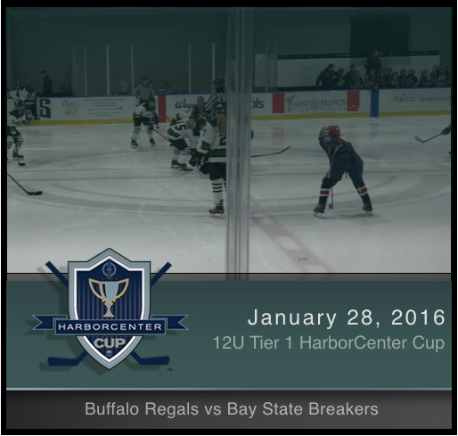 12U Tier 1 Buffalo Regals vs Bay State Breakers