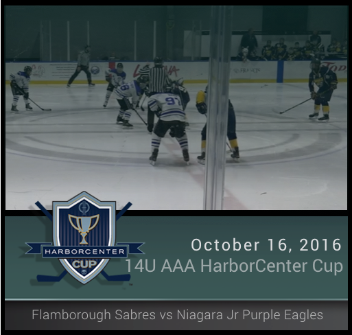 14U AA Flamborough Sabres vs Niagara Jr. Purple Eagles