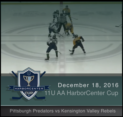 11U AA Pittsburgh Predators vs Kensington Valley Rebels