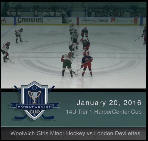 14U Tier 1 Woolwich Girls Minor Hockey vs London Devilettes