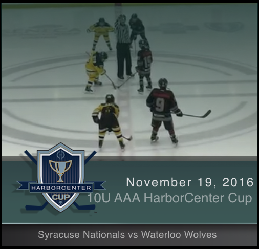 10U AAA Syracuse Nationals vs Waterloo Wolves