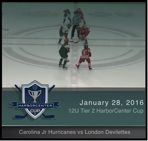 12U Tier 2 Carolina Jr. Hurricanes vs London Devilettes