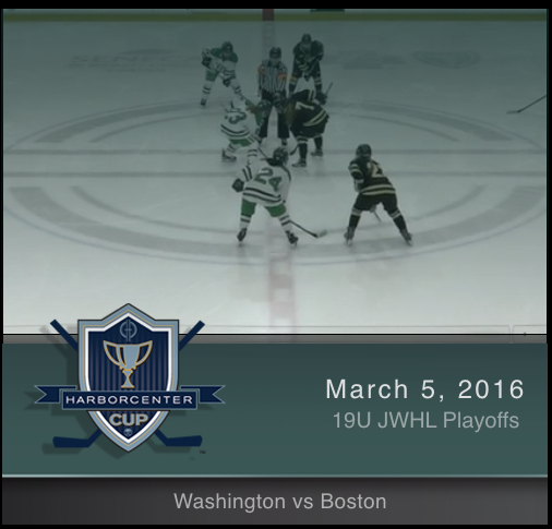 JWHL 19U Washington vs Boston