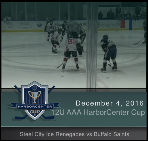 12U AAA Steel City Ice Renegades vs Buffalo Saints