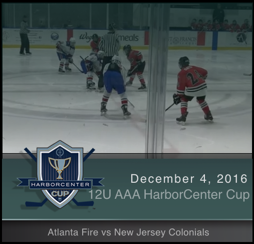 12U AAA Atlanta Fire vs New Jersey Colonials