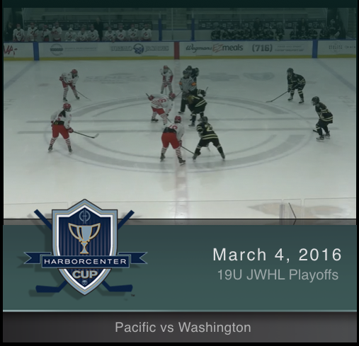 19U JWHL Washington vs Pacific