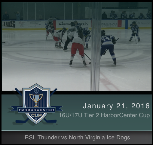 16U/17U Tier 2 RSL Thunder vs North Virginia Ice Dogs