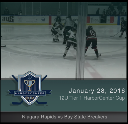 12U Tier 1 Niagara Rapids vs Bay State Breakers