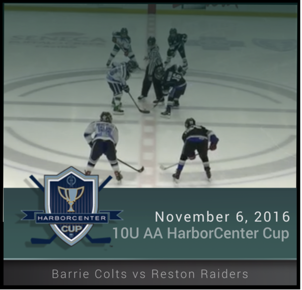 10U AA Championship Barrie colts vs Reston Raiders