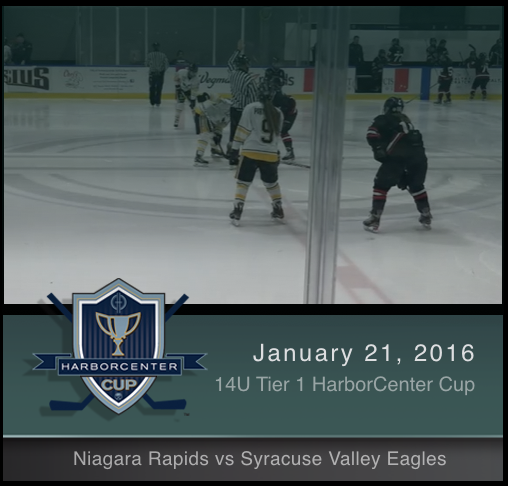 14U Tier 1 Niagara Rapids vs Syracuse Valley Eagles